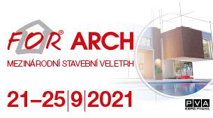 Veletrh FOR ARCH startuje